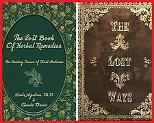 The Lost Book of Herbal Remedies & The Lost Ways by Claude Davis✅P.D..F✅