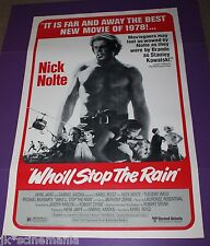 WHO'LL STOP THE RAIN MOVIE POSTER ORIGINAL ONE SHEET ROLLED