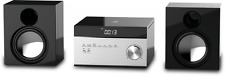GPX HC225B Stereo Home Music System with CD Player & AM/ FM Tuner, Remote Contro