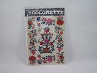 Planche ancienne décalcomanie COLORETTE bsb 520 Super-Decals décoration Vintage