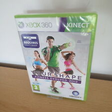 Votre shape: fitness evolved 2012 (Xbox 360) Neuf Scellé PAL VERSION