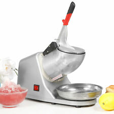 Commercial Ice Shaver Electric Snow Cone Crusher Maker Machine 143lbs 300w