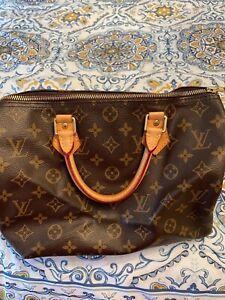 Louis Vuitton SPEEDY 25 Monogram Canvas Handbag