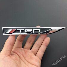 1 Pair TRD Sport Knife Side Emblem Car Sticker Badge Fit For  Corolla RAV4