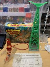 Mego Collapsing Tower & Airplane Playset Comic Action Heroes 1976 Wonderwoman