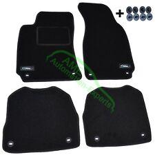 Fußmatten Velours für Skoda Superb I (Typ 3U4) Limousine ab Bj: 2002-2007 ov sw