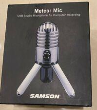 Samson Meteor Condenser Wired - USB Professional Microphone