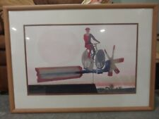 Claus Hoie Original Watercolor entitled Whirling