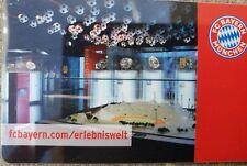 Allianz Arena Card FC Bayern München Erlebniswelt NEU DFB Deutschland....