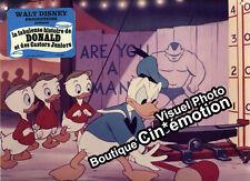 Photo Cinéma 23.5x30cm (1975) LA FABULEUSE HISTOIRE DE DONALD - Disney TBE a