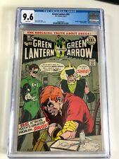 Green Lantern #85 comic CGC 9.6 drug story
