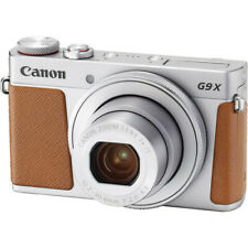 New Canon PowerShot G9 X Mark II Digital Camera - SILVER - 20.1MP Wifi