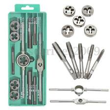 12Pcs/Lot Metric Adjustable Taps Dies Wrench Handle Tap and Die Set M3-M12 Screw