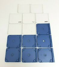 7 x Genuine Sega Dreamcast Replacement Cases Middle and Back Parts - (No Fronts)