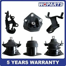 Front Rear Engine Motor Trans Mount Set 6 Fit for Honda Accord 3.0L 03-07 Auto