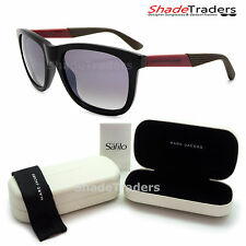 MARC BY MARC JACOBS SUNGLASSES SHINY BLACK RED GREY GRADIENT MMJ 379S FFO