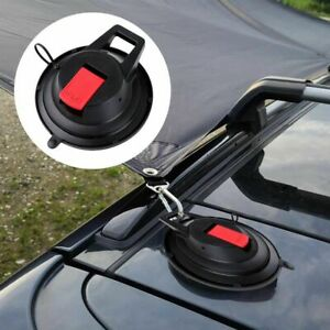 Camping Tarp Vehicle Suction Plate Suction Cup Hook Securing Hook Pet Sucker