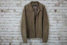 Ben Sherman Brown Leather Jacket Size Medium No.Z413 04/4