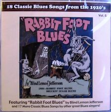 CD: 18 Classic Blues Songs From the 1920's Vol 8 Tommy Johnson, Furry, Kokomo