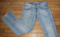 LEVIS 570 Jeans pour Femme W 27 - L 32 Taille Fr 36 STRAIGHT FIT (Réf #Y090)