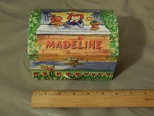 Musical Jewerly Keepsake Box by Schylling *Madeline* Paris, France Landscape Ltd