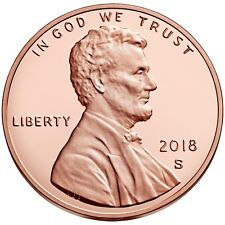 Roll of 40 2018 S Lincoln Shield Proof Deep Cameo Pristine