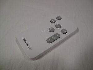Brookstone Boombox Remote Control White Small Mini (read description)