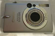 Canon Digital IXUS 500 for parts including the original battery