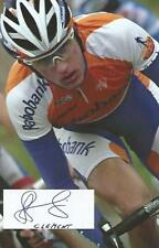 Cyclisme, ciclismo, wielrennen, radsport, cycling, STEF CLEMENT signé