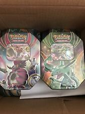 Pokemon Rayquaza + Hoopa EX Tin Box The Best of EX Tin 2016 Booster Box SEALED