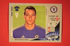 PANINI CHAMPIONS LEAGUE 2012/13 N. 302 TERRY CHELSEA BLACK BACK MINT!