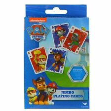 Nickelodeon Paw Patrol Jumbo Playing Cards Party Favors Skye Marshall Chase