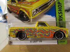 Hot Wheels '67 Chevy C10 HW Workshop Yellow