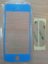 Cristal Pantalla Digitalizador para Apple Iphone 5 5G 5S 5C Turquesa + Adhesivo