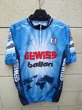 VINTAGE Maillot cycliste GEWISS BALLAN maglia jersey TOUR 1994 Bjarne Riis XXL