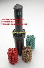 Lot de 30 Arbres de 4 BUSES 5000 MPR RAINBIRD pour Arroseur 5000 - 608RBBU500M