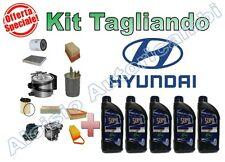 KIT TAGLIANDO HYUNDAI IX20 1.4 CRDI 90 CV OLIO ERG  5W30 + FILTRI