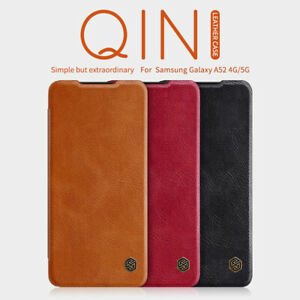 For Samsung Galaxy A52s 5G /A52 4G Case Nillkin PU Leather Flip Card Full Cover
