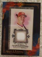 2009 Allen & Ginter Jay Bruce #AGR-JB Jersey - Cincinnati Reds - Framed Mini