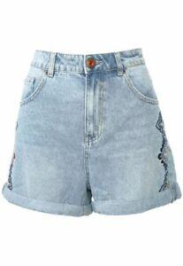 Desigual Women`s Shorts Size 30 / 12 UK Highwaisted Denim RRP: 79.95 EUR