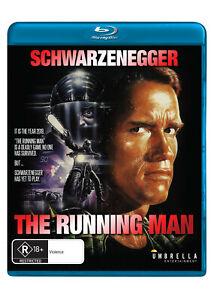 The Running Man (Blu-ray) NEW/SEALED [Region B]