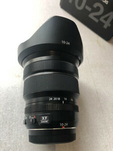 Fujifilm XF 10-24mm F4 R OIS Wide Angle Lens; Boxed including Hood and Caps
