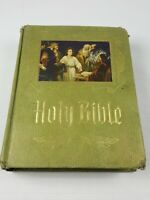 Holy Bible Master Reference Edition Heirloom Family Bible Red Letter 1971