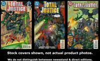 Total Justice 1 2 3 DC 1996 Complete Set Run Lot 1-3 VF