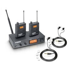 LD Systems MEI 1000 G2 BUNDLE WIRELESS IEM IN EAR MONITORING SYSTEM BAND STAGE
