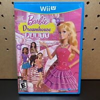 Barbie Dreamhouse Party (Nintendo Wii U, 2013) Complete W/ Manual - Tested