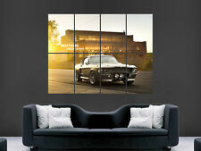 MUSTANG SHELBY  GT500 ELANOR CLASSIC CAR USA ART HUGE IMAGE  LARGE WALL POSTER