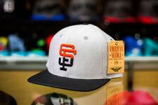 American Needle San Francisco Giants Rift Strapback Hat MLB Baseball