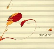 Field Music S/t CD 20 Track 2 Disc Set With Booklet in Gatefold Card Sleeve EUR
