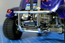 Hot Racing Aluminum Front Bumper Silver For Tamiya Bruiser 4x4 RC Car #TBR330F08